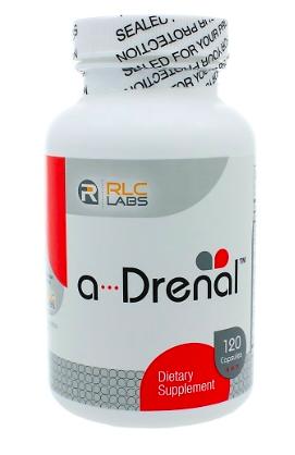 a-drenal supplement bottle