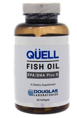 Quell EPA/DHA supplement bottle