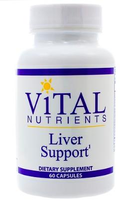Liver Support Supplement bottle