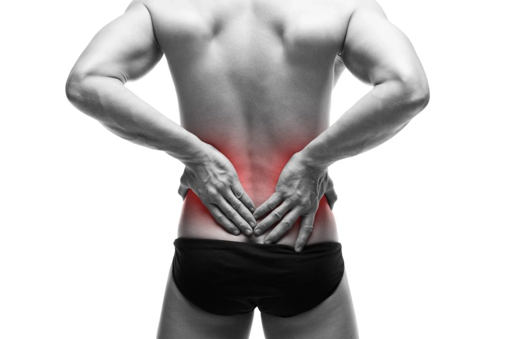 body in chronic pain