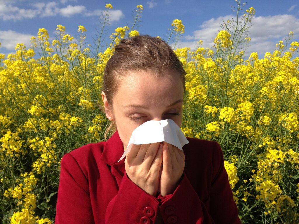 allergies and pollen